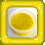 gekleurd zand geel
