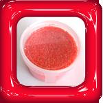gekleurd zand rood