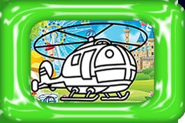 helicopter zandkleurplaten