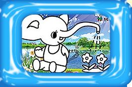 olifant zandkleurplaten