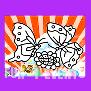vlindertjes zandkleurplaten