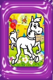 zandkleurplaten paard