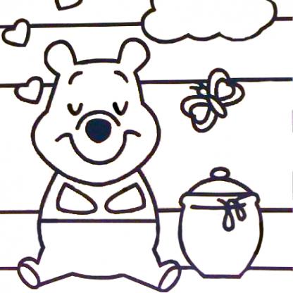 beer zandtekening