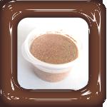 gekleurd zand bruin
