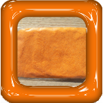 gekleurd zand oranje