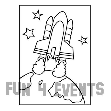 Kleurplaten Van Raketten.Zandtekening Raket Aarde Zonder Zand