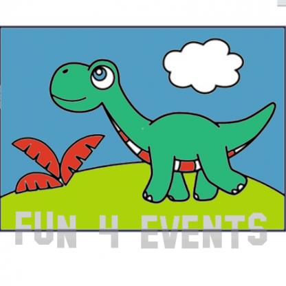 dinosaurus zandtekening