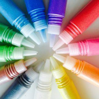 gekleurdzand flesjes