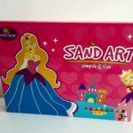 zandtekening pakket prinses