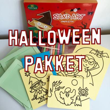 halloween pakket zandtekeningen