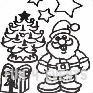 kerstman boom