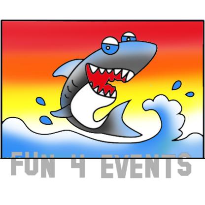 zandkleurplaat haai