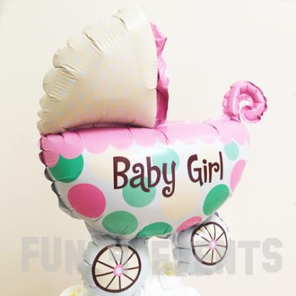 ballon geboorte meisje