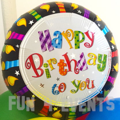 ballon met helium verjaardag