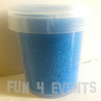 potje blauw zand