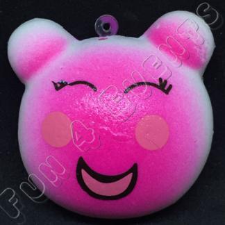 beertje roze squishy
