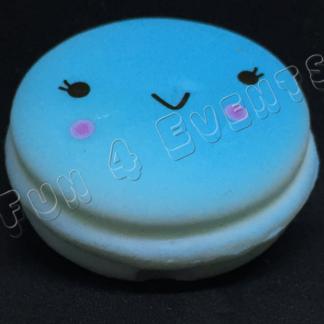 squishy macaron blauw