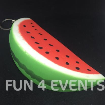 sleutelhanger squishy groot watermeloen