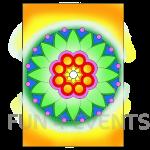 mandala gekleurdzand
