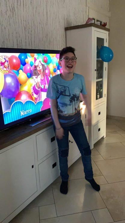verjaardag thuis tijdens corona